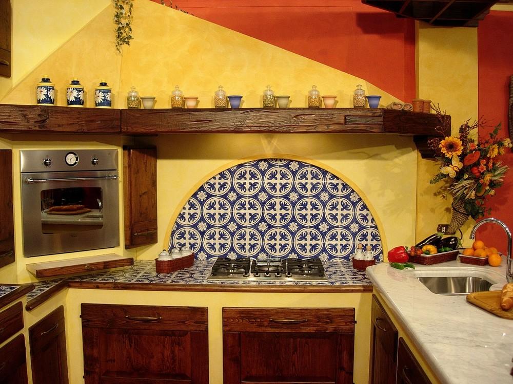 Mod cucina elisabetta paino mobili - Cucine in stile rustico ...