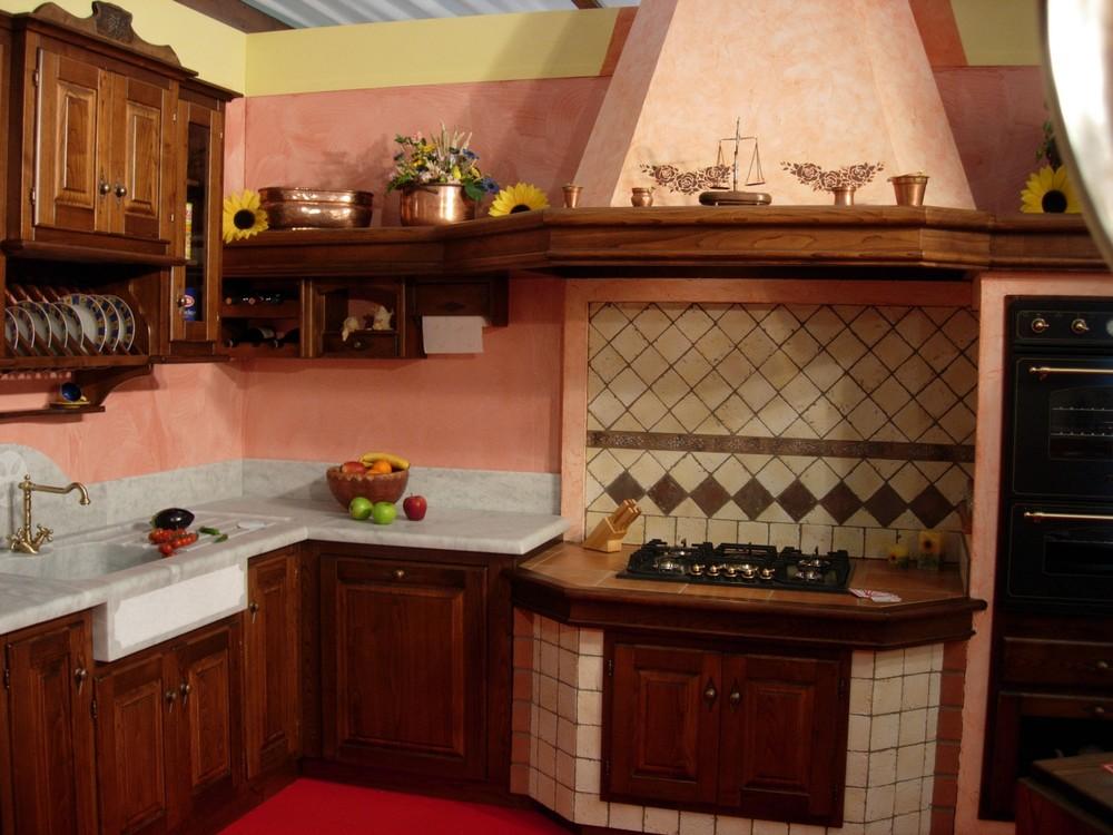 mod. Cucina Rosa - Paino Mobili